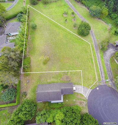 Maui County Residential Lots & Land For Sale: 106 Kawalea Pl #Unit 1