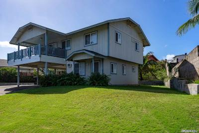 Wailuku Single Family Home For Sale: 905 Lekeona Loop