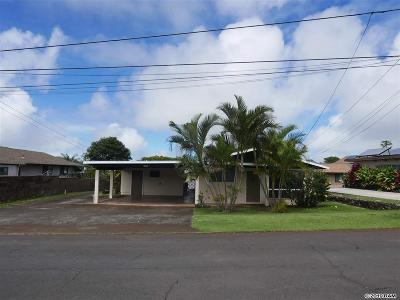 Makawao Single Family Home For Sale: 101 Ihea Pl