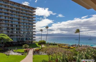 Condo/Townhouse For Sale: 2481 Kaanapali Pkwy #319