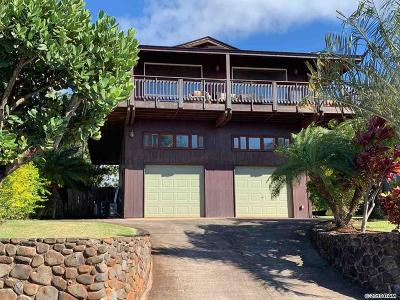 Single Family Home For Sale: 76 Kahana Ridge Dr