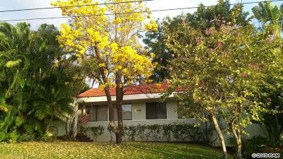 Single Family Home For Sale: 530 Pawali St