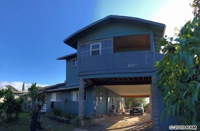 Makawao Single Family Home For Sale: 3616 Piikea Pl
