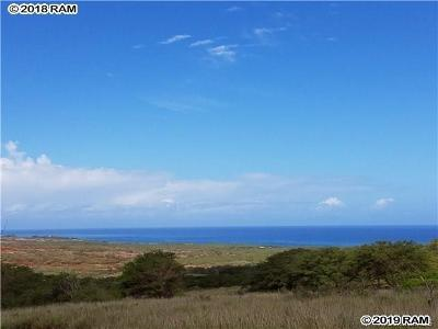 Maui County Residential Lots & Land For Sale: 79 Pa Loa Loop #79