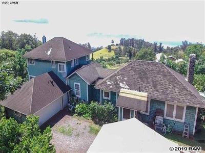 Makawao Single Family Home For Sale: 2210 Olinda Rd