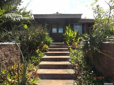 Kula HI Single Family Home For Sale: $2,400,000