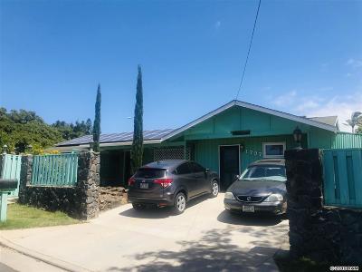 Single Family Home For Sale: 1797 Malama St