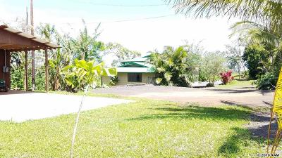 Haiku Single Family Home For Sale: 2619 Puuomalei Rd #A & B