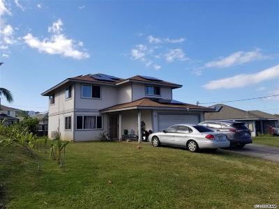 Wailuku Single Family Home For Sale: 102 Omilu St