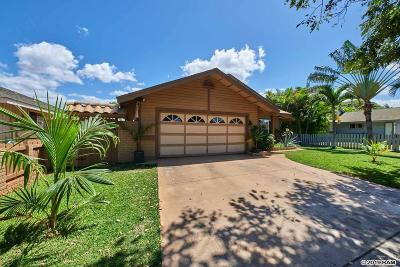 Maui County Single Family Home For Sale: 845 Mahealani St