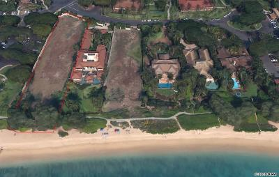 Lahaina HI Residential Lots & Land For Sale: $11,000,000