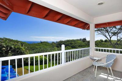 Haiku Single Family Home For Sale: 591 Ulalena Loop #Apartmen