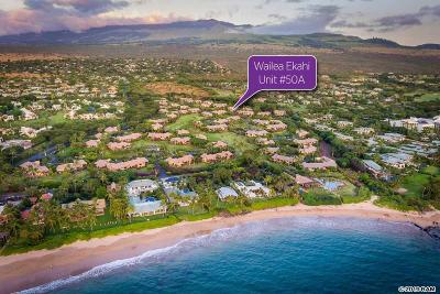 Maui County Condo/Townhouse For Sale: 3300 Wailea Alanui Dr #50A