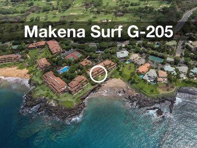 Maui County Condo/Townhouse For Sale: 4850 Makena Alanui Rd #G205