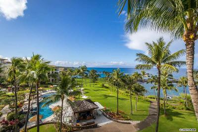 Maui County Condo/Townhouse For Sale: 1 Bay Dr #2403