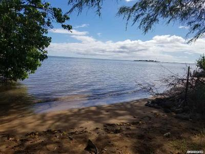 Maui County Residential Lots & Land For Sale: 320 Seaside Pl