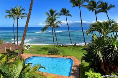 Maui County Condo/Townhouse For Sale: 3875 Lower Honoapiilani Rd #B303