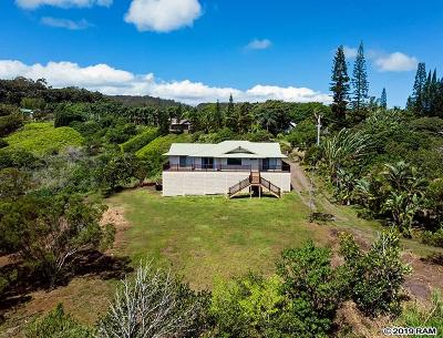 Maui County Single Family Home For Sale: 45 S Honokala Rd