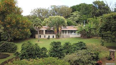 Single Family Home For Sale: 1775 Kalae Hwy