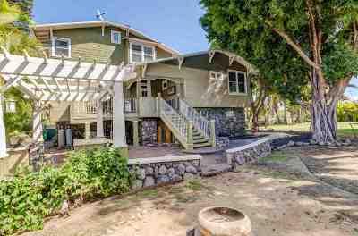 Single Family Home For Sale: 51 W Kapu Pl #1