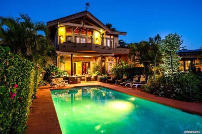 Single Family Home For Sale: 5172 Lower Honoapiilani Rd