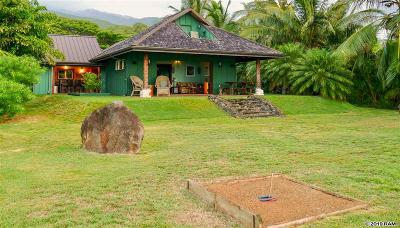 Maui County Single Family Home For Sale: 7420 Kamehameha V Hwy