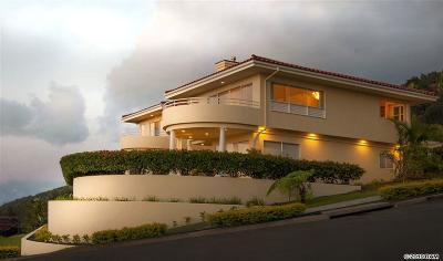 Wailuku Single Family Home For Sale: 507 Kulaiwi Dr