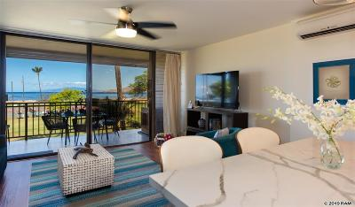 Maui County Condo/Townhouse For Sale: 940 S Kihei Rd #D202