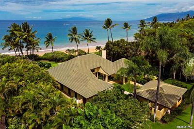 Kihei HI Single Family Home For Sale: $12,900,000