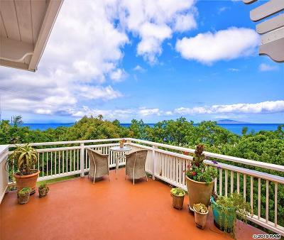 Kula Single Family Home For Sale: 12901 Kula Hwy