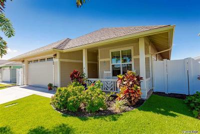 Kahului Single Family Home For Sale: 123 Olina St