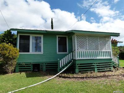 Makawao Single Family Home For Sale: 49 Pamakani Pl