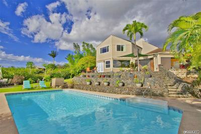 Single Family Home For Sale: 292 Hiolani St
