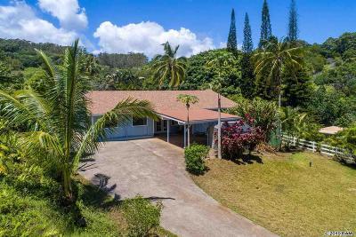 Haiku Single Family Home For Sale: 6170 Hana Hwy #5-A