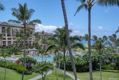 Maui County Condo/Townhouse For Sale: 1 Ritz Carlton Dr #1702