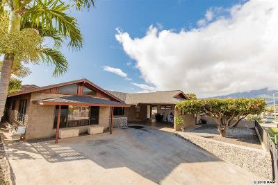 Kahului Single Family Home For Sale: 345 S Lehua St