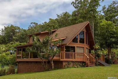 Haiku Single Family Home For Sale: 181 Kapuai Rd