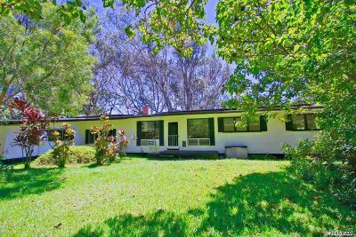 Haiku Single Family Home For Sale: 373 Ulumalu Rd