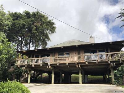 Kula Single Family Home For Sale: 16860 Haleakala Hwy