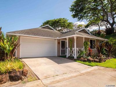 Wailuku Single Family Home For Sale: 586 Akolea St