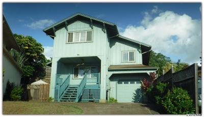 Maui County Single Family Home For Sale: 66 Haku Hale Pl