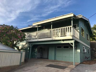 Maui County Single Family Home For Sale: 317 Auhana Rd