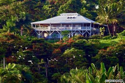 Hana Single Family Home For Sale: 130 Kalo Rd