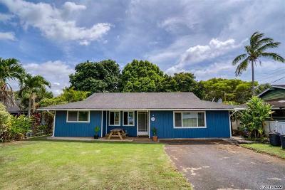 Makawao Single Family Home For Sale: 12 Alana Pl