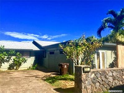 Makawao Single Family Home For Sale: 310 Hokulani St