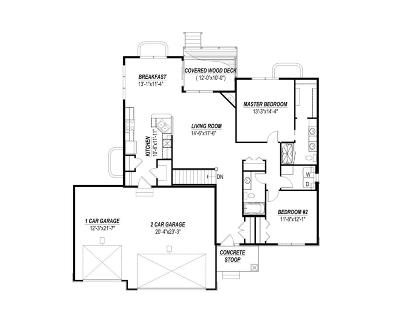 Gilbert Single Family Home For Sale: 301 Hawthorne Circle