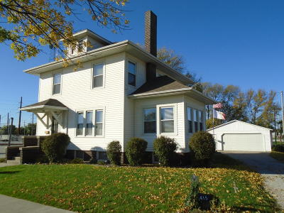 Boone IA Single Family Home For Sale: $139,900