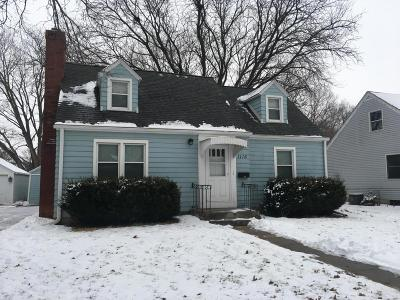 Ames Single Family Home For Sale: 1116 Burnett Avenue