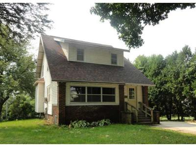 Monticello IA Single Family Home For Sale: $62,500