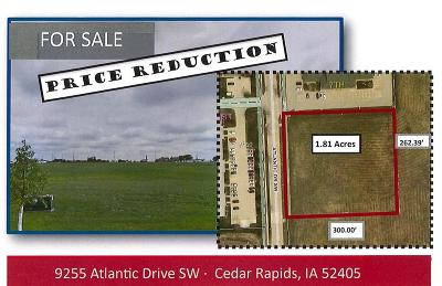 Cedar Rapids Residential Lots & Land For Sale: 9255 Atlantic Drive SW